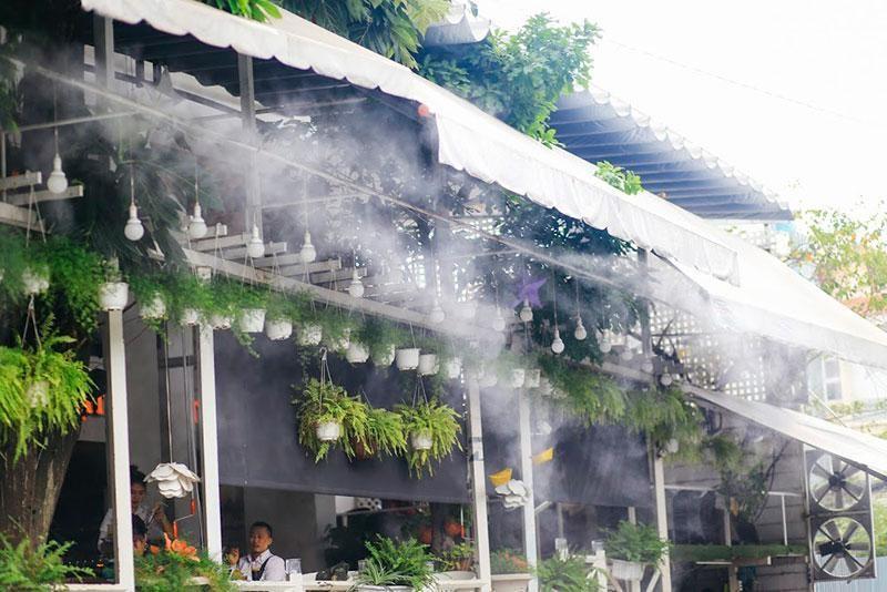 Hệ thống máy phun sương là thiết bị làm mát và tạo ẩm giá tốt